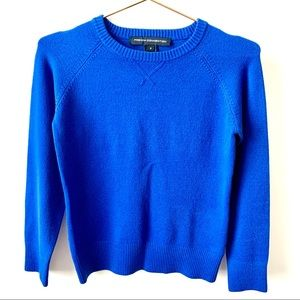 French Connection Royal Blue Crew Neck Sweater
